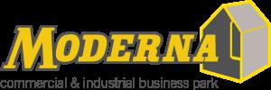 Moderna Logo with strapline